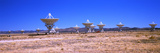 Radio Telescope Satellite Dishes of the Very Large Array on the Plains of San Agustin  Socorro