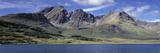 Hills  Cuillins  Loch Slapin  Isle of Skye  Scotland