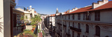 View from a Room Terrace Near Central Station  Nice  Provence-Alpes-Cote D'Azur  France