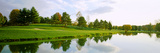 Reflection of Trees on Water  Westwood Country Club  Vienna  Fairfax County  Virginia  USA