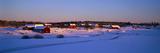 Snowy Rural Landscape Hult Sweden