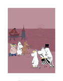 The Moomins Back on Dry Land After Their Treasure Hunt