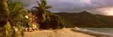 Hotel Apartments on Beau Vallon Beach  Mahe Island  Seychelles