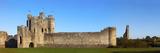 Curtain Walls of a Castle  Trim Castle  Trim  County Meath  Republic of Ireland
