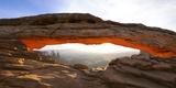 Rock Formations  Mesa Arch  Canyonlands National Park  Utah  USA