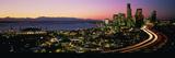 Sunset Skyline Seattle Wa USA