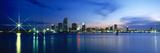 Miami Skyline at Night  Miami-Dade County  Florida  USA