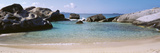 British Virgin Islands  Virgin Gorda  the Baths  Rock Formation in the Sea