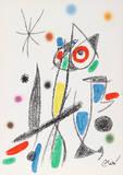Maravillas con Variaciones Acrosticas en el jardin de Miro (Number 14) Reproductions de collection premium par Joan Miró