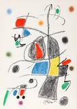 Maravillas con Variaciones Acrosticas en el jardin de Miro (Number 19) Reproductions de collection premium par Joan Miró