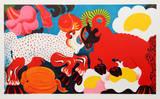 Rams Reproduction pour collectionneurs par Nicolas Uriburu