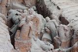Broken Terracotta Soldiers at Qin Shi Huangdi Tomb