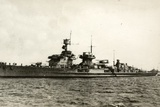German Light Cruiser Nürnberg (Nuremberg in English)