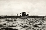 German Submarine U-8  a Type Iib U-Boat of the German Kriegsmarine