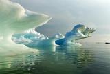 Melting Icebergs  Hudson Bay  Canada