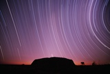 Ayers Rock and Star Trails  Ulru - Kata Tjuta National Park  Australia