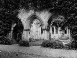 Netley Abbey  Hampshire  the Arches of the Chapter House in This Cistercian Abbey
