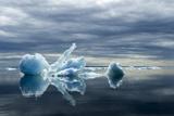 Melting Iceberg  Hudson Bay  Canada