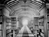Library  St John's College  Oxford  Oxfordshire  the Interior of the Old Library in Canterbury Quad