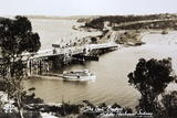 Sydney Spit Bridge  Middle Harbour  Sydney  New South Wales  Australia in 1924
