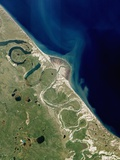 Horton River Delta  Arctic Canada