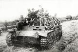 A German Panzer Pz Kpwiii Ausfe Tank