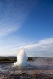 Strokkur Geyser  Geysir  Iceland