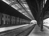Interior of Portbou Railway Station