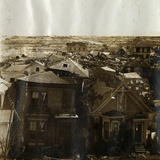 Rooftops of Houses after Tidal Wave