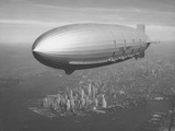 Dirigible Macon over New York City