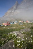 Aappitttoq Village and Mountain