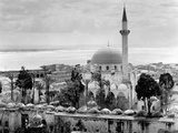 View of Large Mosque Against Skyline