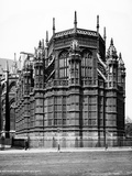 Westminster Abbey  Westminster  London  Exterior View of the Henry VII Chapel from the South-East