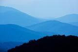 Skyline Drive, Shenandoah National Park, Virginia Papier Photo