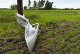 Tornado Storm Damaga  Saskatchewan  Canada