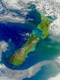 Turbid Waters Surround New Zealand