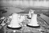 The Cooling Towers at Three Mile Island