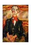Man in Red Scarf  L'Homme au Foulard Rouge  C 1921