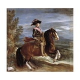 Equestrian Portrait of Philip IV