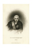 Engraving after Sir Joseph Banks  Bt