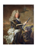 Louis De France by Hyacinthe Rigaud