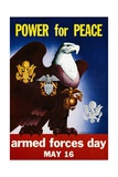 Power for Peace Poster