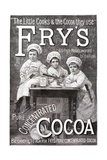 Advertisement for Fry's Cocoa