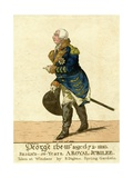 George III Print of His Fiftieth Year Jubilee