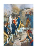 Admiral Nelson Landing in Copenhagen