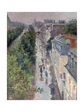 Scène De Rue À Paris (Street Scene in Paris) Giclée par Maximilien Luce