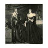 Portrait of Frederick Henry  Prince of Orange  and His Wife Amalia  Countess of Von Solms