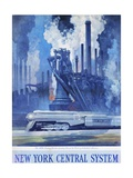 New York Central System Poster