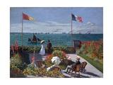 Terrasse À Sainte-Adresse (Terrace at Sainte-Adresse) Giclée par Claude Monet