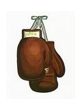 1960s Illustration of Boxing Gloves